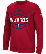 Men's adidas Washington Wizards NBA New Ball Crew Sweatshirt