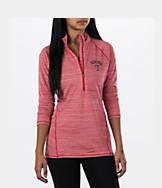 Women's Under Armour Texas Tech Red Raiders College Poly Tech Half-Zip Shirt