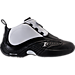 Right view of Men's Reebok Answer IV Basketball Shoes in Black/White/Navy