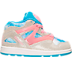 Girls' Toddler Reebok Pump Omni Lite Basketball Shoes