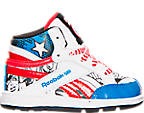 Boys' Toddler Reebok Marvel Captain America Casual Shoes