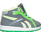 Boys' Toddler Reebok Disney Pixar Good Dino Court Mid Basketball Shoes
