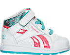 Girls' Toddler Reebok Frozen Elsa Mid Casual Shoes