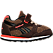 Right view of Boys' Toddler Reebok Retro Runner Casual Shoes in Earth/Dark Brown/Khaki