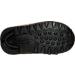 Bottom view of Boys' Toddler Reebok Retro Runner Casual Shoes in Earth/Dark Brown/Khaki