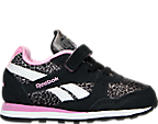 Girls' Toddler Reebok Retro Runner Casual Shoes