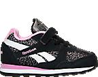 Girls' Toddler Reebok Retro Runner Casual Shoes