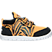 Right view of Boys' Toddler Reebok VentureFlex Running Shoes in Team Orange/Black/White