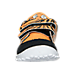 Front view of Boys' Toddler Reebok VentureFlex Running Shoes in Team Orange/Black/White