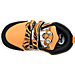 Top view of Boys' Toddler Reebok VentureFlex Running Shoes in Team Orange/Black/White