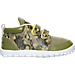 Right view of Boys' Toddler Reebok VentureFlex Lead Running Shoes in Warm Olive/Stone/Luminous Lime