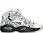 Boys' Grade School Reebok Question Mid Basketball Shoes