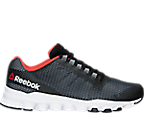Reebok V71858 BKR Mens Hexaffect Storm Running Shoes - Black/White/Red