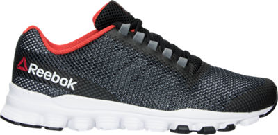 Reebok Hexaffect Storm Running Mens Shoes - Black/White/Red
