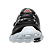 Front view of Women's Reebok ZPump Fusion 2.0 Ele Running Shoes in Black/White