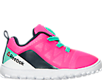 Girls' Toddler Reebok ZPump 2.0 Running Shoes
