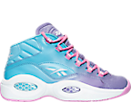 Girls' Grade School Reebok Question Mid Basketball Shoes