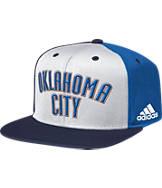 adidas Oklahoma City Thunder NBA Pinwheel Snapback Hat