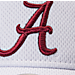 Alternate view of Zephyr Alabama Crimson Tide College Volley Visor Hat in Team Colors