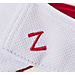 Alternate view of Zephyr Arizona Wildcats College Volley Visor Hat in Team Colors