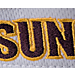 Alternate view of Zephyr Arizona State Sun Devils College Volley Visor Hat in Team Colors