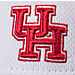 Alternate view of Zephyr Houston Cougars College Volley Visor Hat in Team Colors
