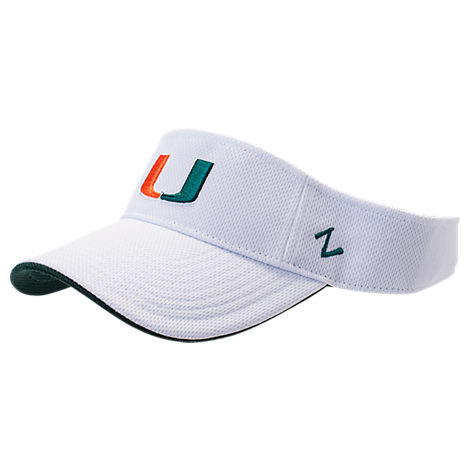 Zephyr Miami Hurricanes College Volley Visor Hat