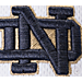 Alternate view of Zephyr Notre Dame Fighting Irish College Volley Visor Hat in Team Colors