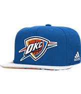 adidas Oklahoma City Thunder 2015 NBA Draft Snapback Hat