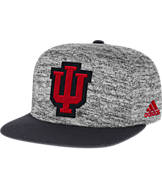 adidas Indiana Hoosiers College Sideline Player Snapback Hat