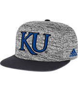 adidas Kansas Jayhawks College Sideline Player Snapback Hat