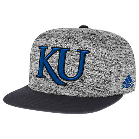 adidas Kansas Jayhawks College Sideline Player Snapback Hat