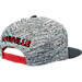 Back view of adidas Louisville Cardinals College Sideline Player Snapback Hat in FAS