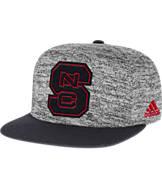 adidas North Carolina State Wolfpack College Sideline Player Snapback Hat