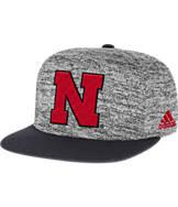 adidas Nebraska Cornhuskers College Sideline Player Snapback Hat