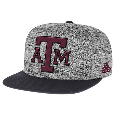 adidas Texas A&M Aggies College Sideline Player Snapback Hat