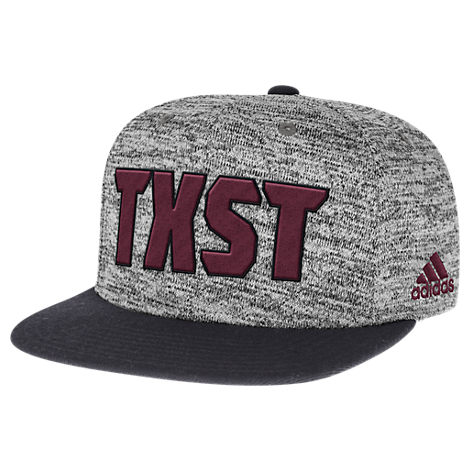 adidas Texas State Bobcats College Sideline Player Snapback Hat