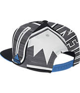 adidas Dallas Mavericks NBA Sub Snapback Hat