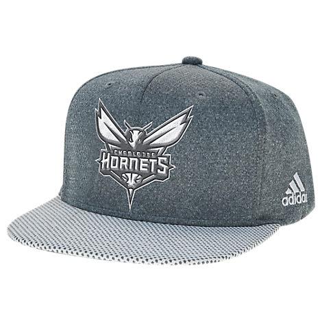 adidas Charlotte Hornets NBA Textured Visor Snapback Hat