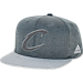 Front view of adidas Cleveland Cavaliers NBA Textured Visor Snapback Hat in Team Colors