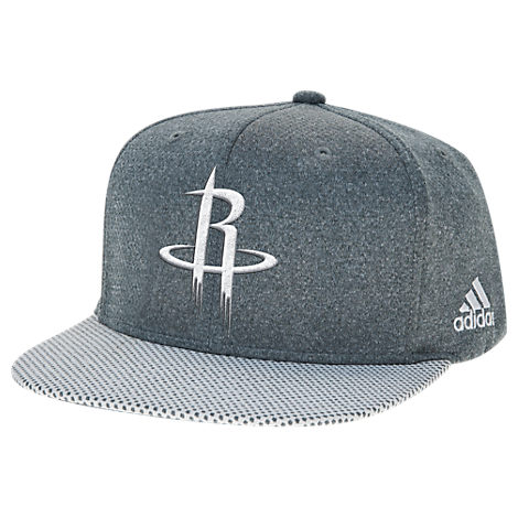 adidas Houston Rockets NBA Textured Visor Snapback Hat