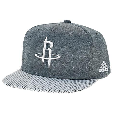 adidas Houston Rockets NBA Textured Visor Snapback Hat