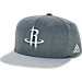 Front view of adidas Houston Rockets NBA Textured Visor Snapback Hat in Team Colors