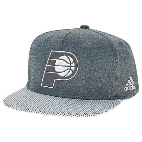 adidas Indiana Pacers NBA Textured Visor Snapback Hat