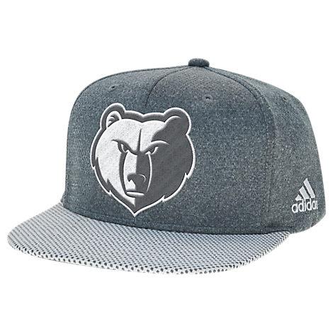 adidas Memphis Grizzlies NBA Textured Visor Snapback Hat