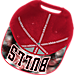 Alternate view of adidas Chicago Bulls NBA Sublimated Visor Snapback Hat in Team Colors