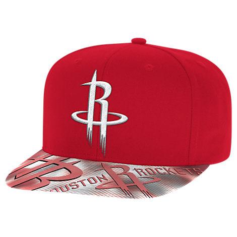 adidas Houston Rockets NBA Sublimated Visor Snapback Hat