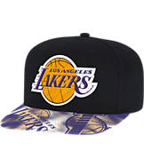 adidas Los Angeles Lakers NBA Sublimated Visor Snapback Hat