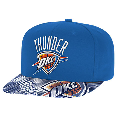 adidas Oklahoma City Thunder NBA Sublimated Visor Snapback Hat