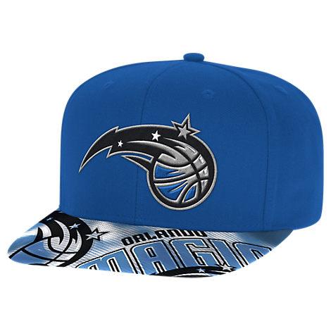 adidas Orlando Magic NBA Sublimated Visor Snapback Hat